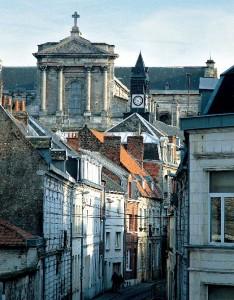 Cathédrale depuis Meaulens Arras